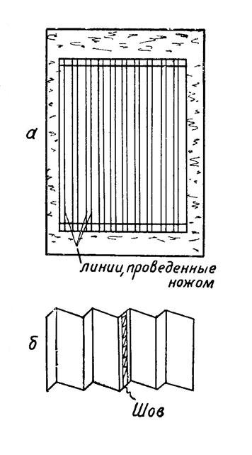Как сделать плиссировку в домашних условиях